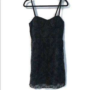 AEO black lace dress